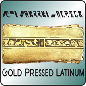 Gold Pressed Latinum